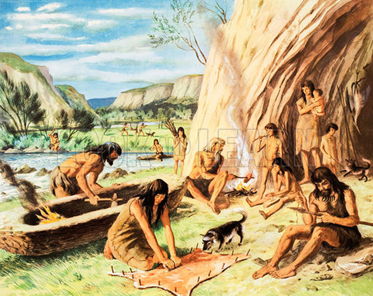 Womens Work The First 20 000 Years Women Cloth and