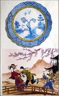 The Story of Willow Pattern art by 20th Century unidentified artist