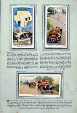 Cigarette cards and complete Albums