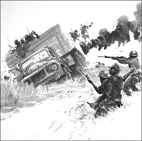 Mercenary Ambush art by Graham Coton