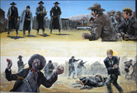 Gunfight at the OK Corral art by Graham Coton