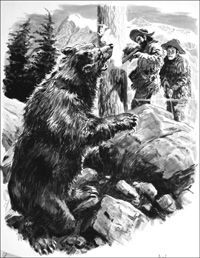 Grizzly Bear art by Cecil Doughty
