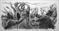 The True History of Macbeth art by Cecil Doughty