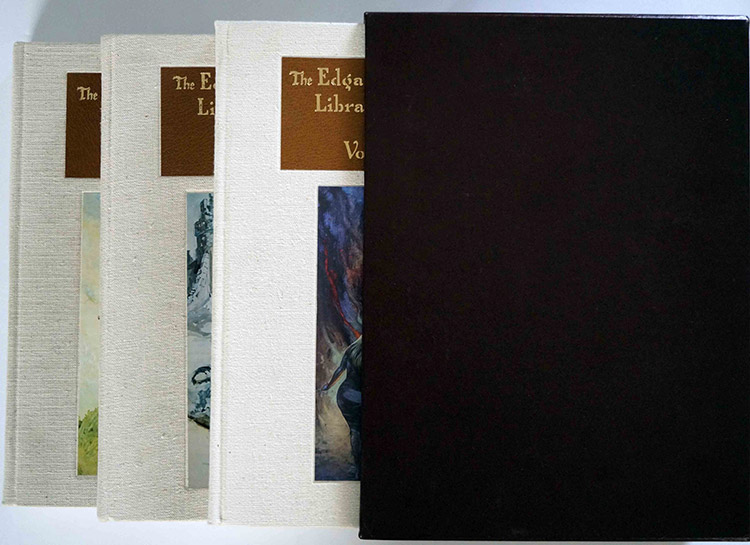 Three volumes in Slipcase (click for bigger picture)