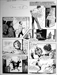 Catweazle - Bird Man (TWO pages) art by Gerry Embleton
