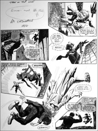 Catweazle - Head On (TWO pages) art by Gerry Embleton