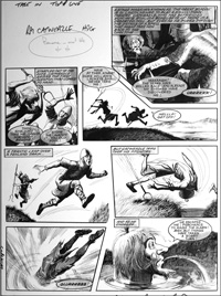 Catweazle In The Drink (TWO pages) art by Gerry Embleton