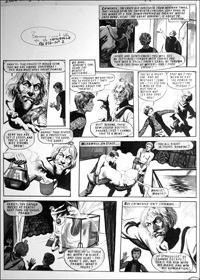 Catweazle - Strong Brew (TWO pages) art by Gerry Embleton