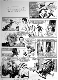Catweazle - A Smashing Time (TWO pages) art by Gerry Embleton