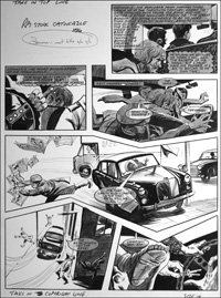 Catweazle - Back Seat Driver (TWO pages) art by Gerry Embleton