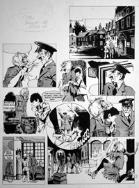 Catweazle: Museum Hi-Jinks (TWO pages) by Gerry Embleton