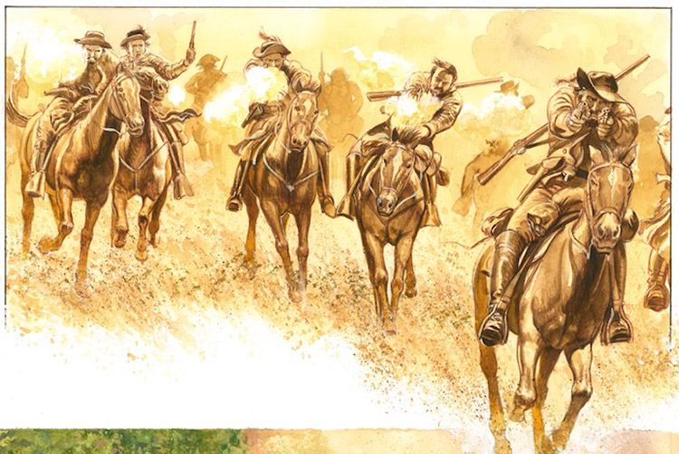 The Portuguese In The Age Of Discovery C 1340 1665 By: Osprey Book Illustration: Confederate Cavalryman 1861-65