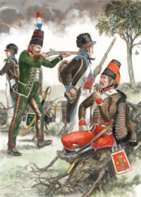 Osprey book illustration Men At Arms Armies of Irish Rebellion art by Gerry Embleton