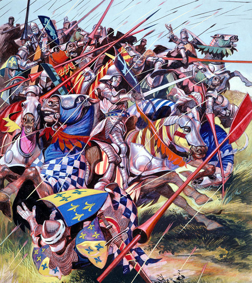 Free Comic Book Day France: Agincourt The Impossible Victory By Ron Embleton At The