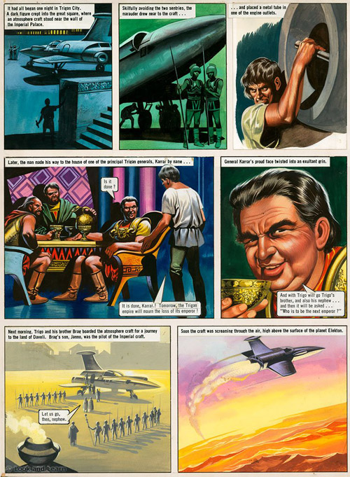 The Trigan Empire - Look and Learn issue 701(a) (Original ...