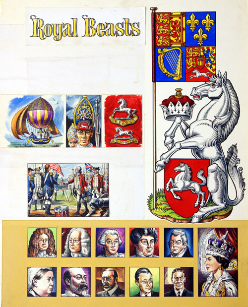The House Of Hanover (coat Of Arms) By Dan Escott At The