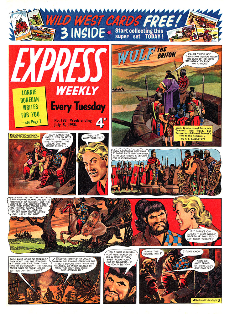 One of the cover strips from Express Weekly (click for bigger picture)