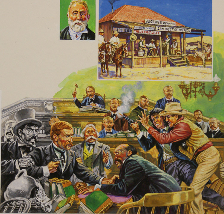 The Law Of The West Quick Draw Justice By Harry Green At The