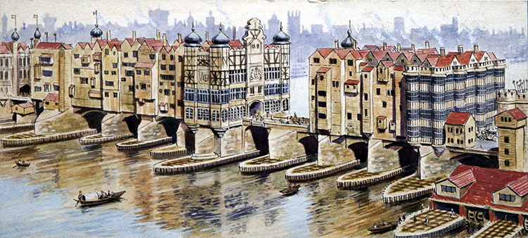The original london bridge by donald hartley at the for Design agency london bridge