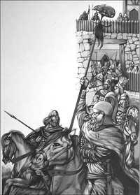 Camelot art by Richard Hook
