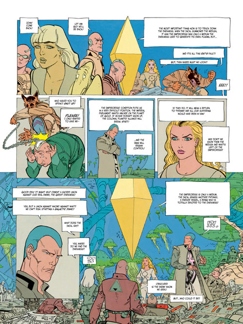 Page from the graphic novel (click for bigger picture)