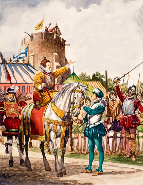 speech to the troops at tilbury Queen elizabeth's famous speech to the troops at tilbury is an excellent  choice for teaching rhetorical analysis this lesson includes: ♛ step-by-step  lesson.