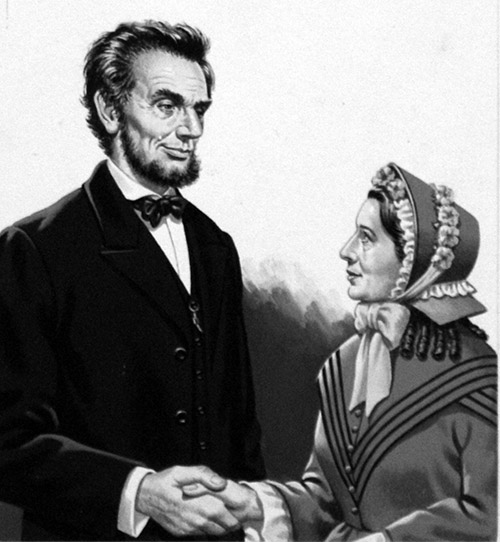 Abraham Lincoln meets ...