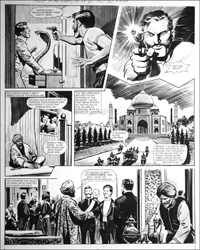 Agent of the Queen - Snake (TWO pages) art by Bill Lacey
