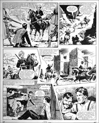 Agent of the Queen - In The Dungeon (TWO pages) art by Bill Lacey