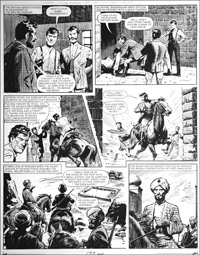 Agent of the Queen - Fort (TWO pages) art by Bill Lacey