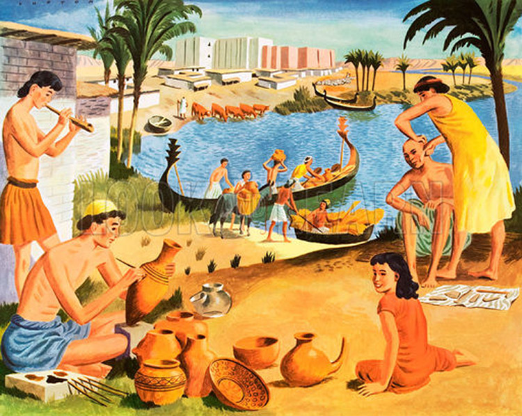 palelithic era to mesopotmia The development of agriculture enabled the rise of the first civilizations, located  primarily along river valleys these complex societies were influenced by.