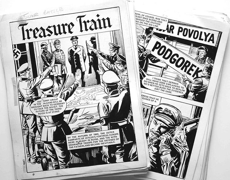 Treasure Train - COMPLETE 64 Page Story by Antonio Perez Martinez at