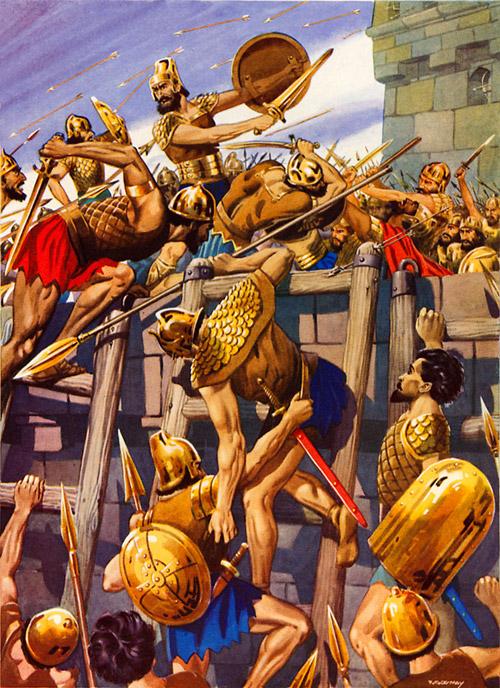 Nebuchadnezzar took the city of Jerusalem by storm by F ...