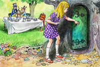 Lewis Carroll - Alice in Wonderland 46 (Original)