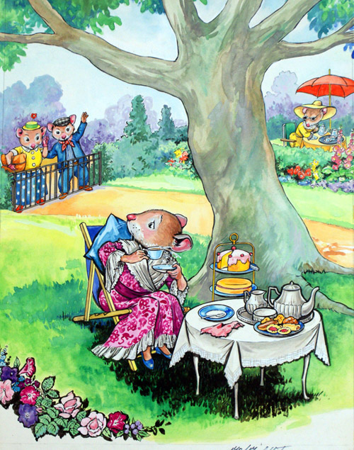 Afternoon Tea by Philip Mendoza at the Illustration Art ...