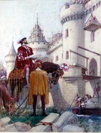 Francis I The Story of France art by John Millar Watt