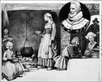 Henry IV and Chicken in the Pot art by John Millar Watt