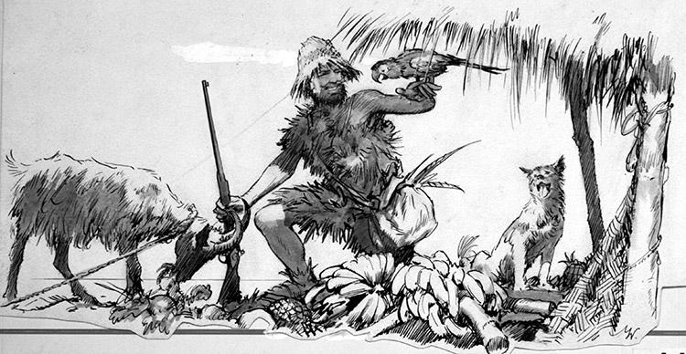 The Real Robinson Crusoe by John