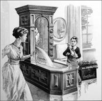 The Victorian Bath art by Patrick Nicolle