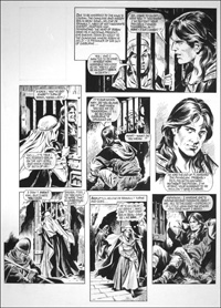Robin of Sherwood - Forced to Drink (TWO pages) art by Mike Noble