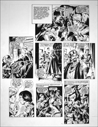 Robin of Sherwood - Crossbow (TWO pages) art by Mike Noble