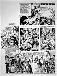 Robin of Sherwood - Joust (TWO pages) art by Mike Noble