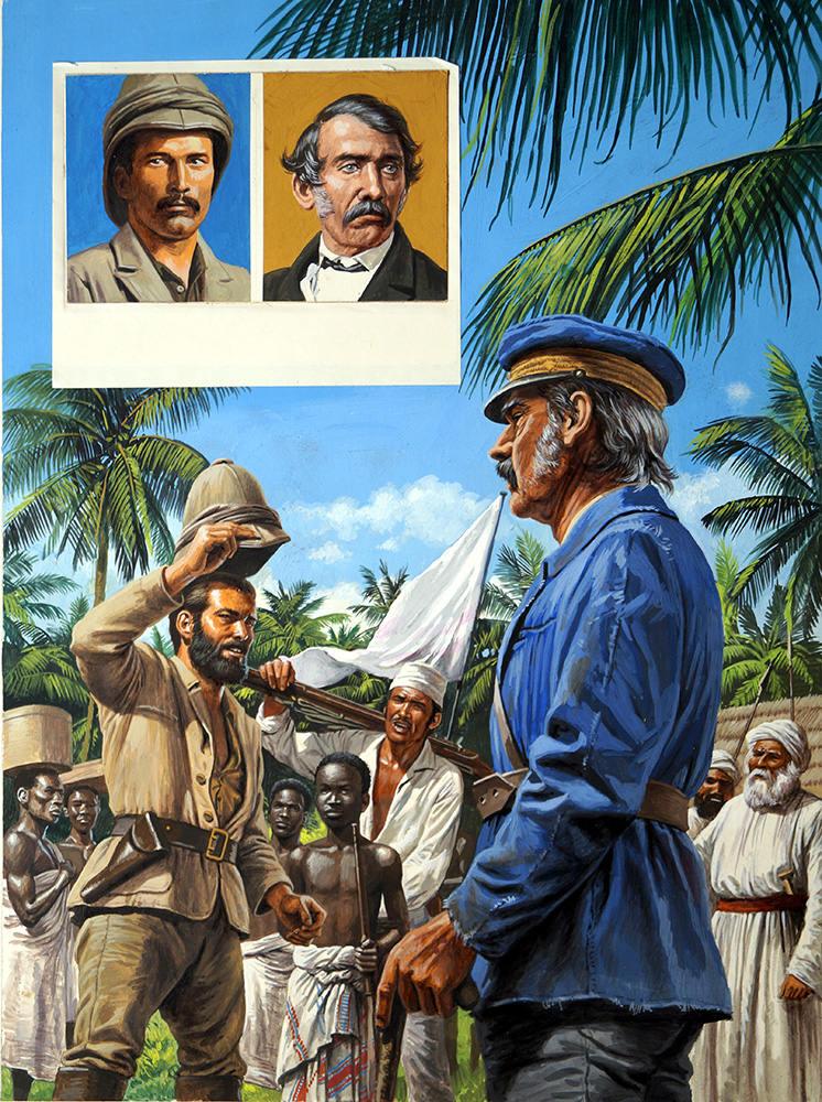 Dr Livingstone I Presume (Original) Art By Roger Payne At The Illustration  Art Gallery