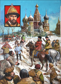 Richard Chancellor and Ivan the Terrible art by Ken Petts