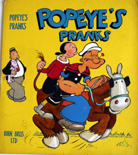 Popeye's Pranks art by 20th Century unidentified artist