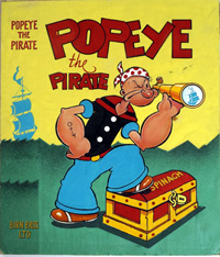Popeye the Pirate art by 20th Century unidentified artist