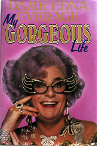Dame Edna Everage: My Gorgeous Life art by John Richardson