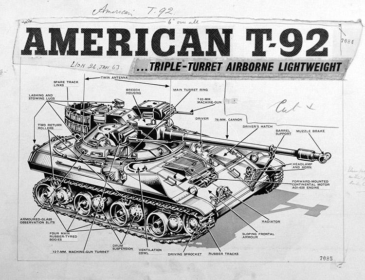 tank motor art