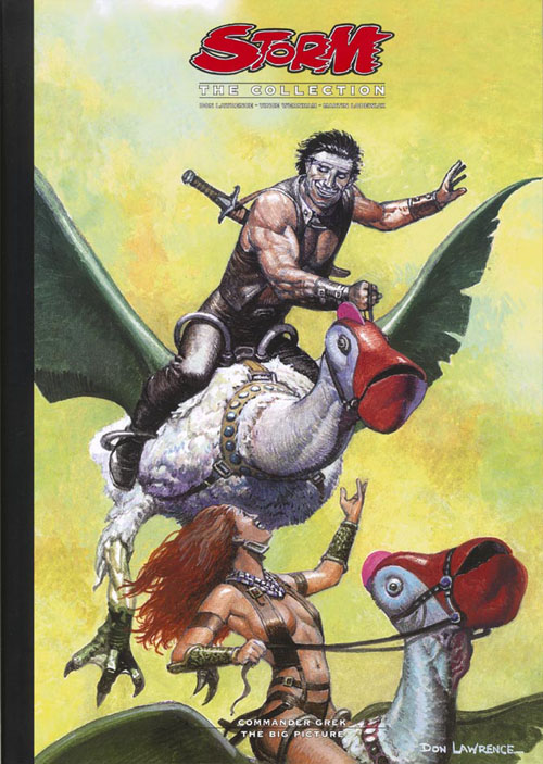 Cover of Last book in the series (vol 12) (click for bigger picture)