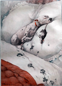 Bonzo the Dog: End of the Day art by George E Studdy